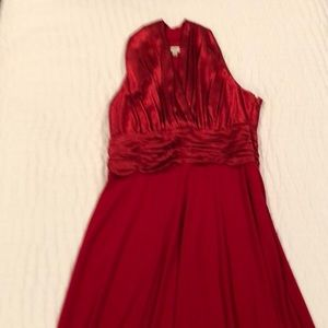 Evan-Picone Red Cocktail Dress